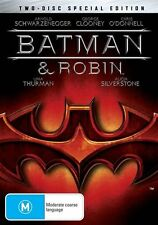 Batman And Robin (DVD, 2005, 2-Disc Set) VGC Pre-owned (D91)
