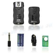 JJC Camera Remote Control & Wireless Flash Trigger for Canon Nikon Olympus Flash