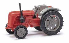 Busch 210010116 - 1/87 / H0 Traktor Famulus - Rot/Grau - Neu
