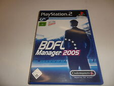 PlayStation 2  PS 2  BDFL Manager 2005