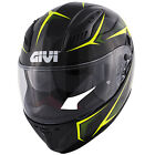 GIVI COLLECTION 2017 FULL FACE HELMET 40.5 X-CARBON BLACK / YELLOW FLUO GLOSS