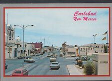 America Postcard - Highway in Downtown Carlsbad, New Mexico  T731
