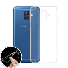 Coverkingz Samsung Galaxy A6 2018 Case Soft-Case Ultra Slim Cover Transparent