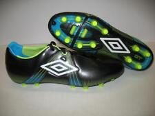 Umbro GT Pro-A HG Hard Firm Ground Soccer Shoes Cleats Black White Mens 11.5
