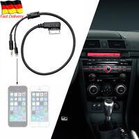 Für iPhone AMI MMI MDI Interface 3.5MM AUX Musik Kabel Für AUDI VW Skoda Jetta