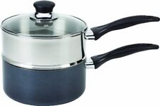 Tfal Double Boiler Pot Stainless Steel With Phenolic Handle Nonstick Cookware 3Q