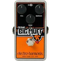 Electro-Harmonix Op-Amp Big Muff Pi Fuzz Effects Pedal
