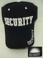 DELUXE EVENT SECURITY BOUNCER GUARD STAFF BALL CAP HAT