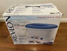Revlon Beauty MoistureStay Luxury Paraffin Bath Model RVS1212 NEW