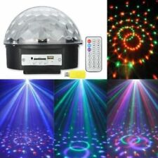 MP3 Disco Ball Speaker Remote Control & USB LED RGB Party Lights DJ Stage Disco