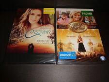 HEART OF THE COUNTRY & PURE COUNTRY 2 THE GIFT-2 movies-JANA KRAMER,KATRINA ELAM