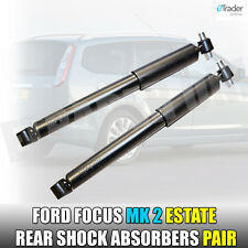 Ford Focus 1.6 MK2 Estate 04-12 Rear Shock Absorbers Pair Shockers Shocks x2