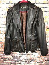 Dollhouse Ladies Vinyl Coat Size L