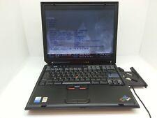 "IBM ThinkPad R40 2722 - 15"" Laptop Pentium M CPU CD-RW DVD-ROM ASIS"