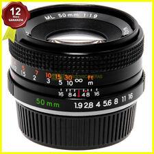 Obiettivo Yashica ML 50mm f1,9 per fotocamere reflex a pellicola Contax/Yashica