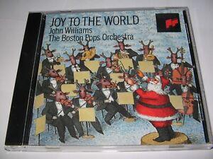 JOY TO THE WORLD : JOHN WILLIAMS & THE BOSTON POPS ORCH. (1992) XMAS MUSIC CD