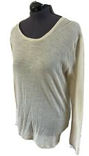 Ladies Just Cavalli Long Sleeved Top Uk Size 14