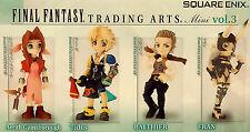 "Square Enix Final Fantasy Trading Arts Vol. 3 Mini Figure 2"" Set of 4 SQU80819"