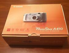 Cámara fotos canon A410