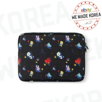 """BT21 Character Space Squad Laptop Sleeve for 13"""" 15"""" Official K-POP Authentic MD"""