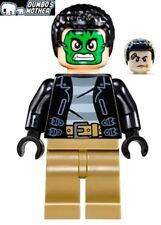 LEGO Green Masked Bank Robber 2-Sided Head 76082 Marvel Super Heroes NEW