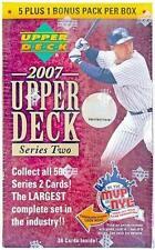 2007 Upper Deck Series 2 Baseball Factory Sealed Blaster Box