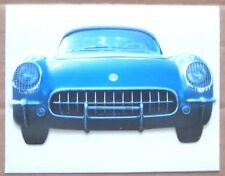 GREETING CARD ~ NOTE CARD ~ 1954 CORVETTE