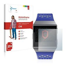 2x Vikuiti™ MySafeDisplay Screen Protector CV8 from 3M for Fitbit Ionic Watch