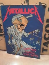 Metallica Tour Book Damage Justice  Tour 88-89...And Justice For Al