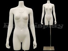Fiberglass Female Invisible Ghost Mannequin Removable neck and Arms #MD-TFW-IV