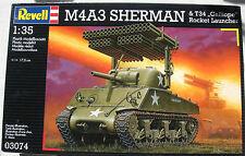 Revell 03074 M4A3 Sherman &T34 Calliope Rocket Launcher1:35 neu  Kombiversand