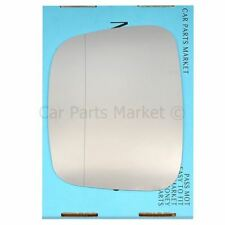 Left Passenger side Wide Angle Wing door mirror glass for VW Caddy 2004-2015