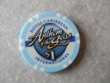"Royal Caribbean Cruise $1.00 Casino Chip ""ANTHEM OF THE SEAS"""
