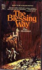 1st edition paperback THE BLESSING WAY by Tony Hillerman - Dell 0446 - 1971