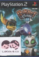 Jeu Sony PS2 / Playstation 2 - RATCHET & CLANK 2 - 3+ PAL - Jeu Edition PROMO