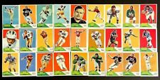 Vintage Card Lot Collection 1960 Fleer Football George Herring 27 Total Lot 6