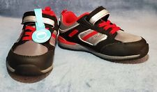 Stride Rite Made2Play 8W Dwyer Toddler Boys Athletic Shoe Black/Grey/Red Multi
