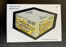 2019 Lost Wacky Packages BOX Stickers BONUS STICKER B9