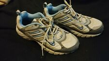 Nike Women's Shoes Trail Running Gray Blue Lace Up 313395-042 Sz 10