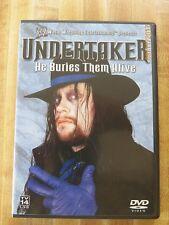 WWE - Undertaker: He Buries Them Alive DVD Jerry Lawler wrestling drama sports