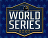OFFICIAL 2020 MLB L.A Dodgers vs Tampa Bay Rays Plastic World Series Patch Bound