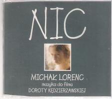 MICHAL LORENC - NIC 1998 CD SELLES RECORDS TOP RARE PROMO OOP