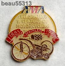 "1885-1985 AMA AMERICAN MOTORCYCLE ASSOCIATION ""CELEBRATING A CENTURY"" PIN"