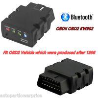 OBDII OBD2 KW902 ELM327 Bluetooth Car Fault Code Reader Diagnostic Scanner Tool