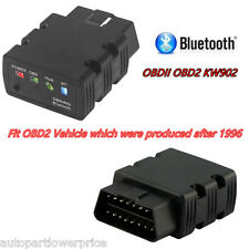 OBDII OBD2 KW902 ELM327 Bluetooth Car Fault Code Reader Diagnostic Scanner Tool