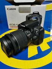 Appareil Photo Digital Canon EOS 100D + 18-55 Is EF-S-STM Kit -bon Etat