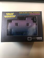 Space Invaders Mini Alien Vinyl Figure (Pink & Blue) -- Loot Crate Exclusive