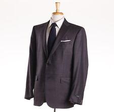 NWT $2995 ERMENEGILDO ZEGNA 'Multiseason' Plum Wool Suit 44 R (Eu 54) Fit Milano