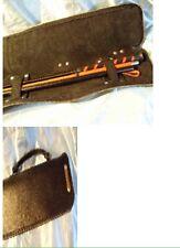 Handmade Leather Personalised Whip Case  Any Colour. Bondage,fetish WH37