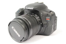 Canon EOS Rebel T3i 18 MP Digital SLR Camera Body w/ Zoom Lens EFS 18-55mm IS II